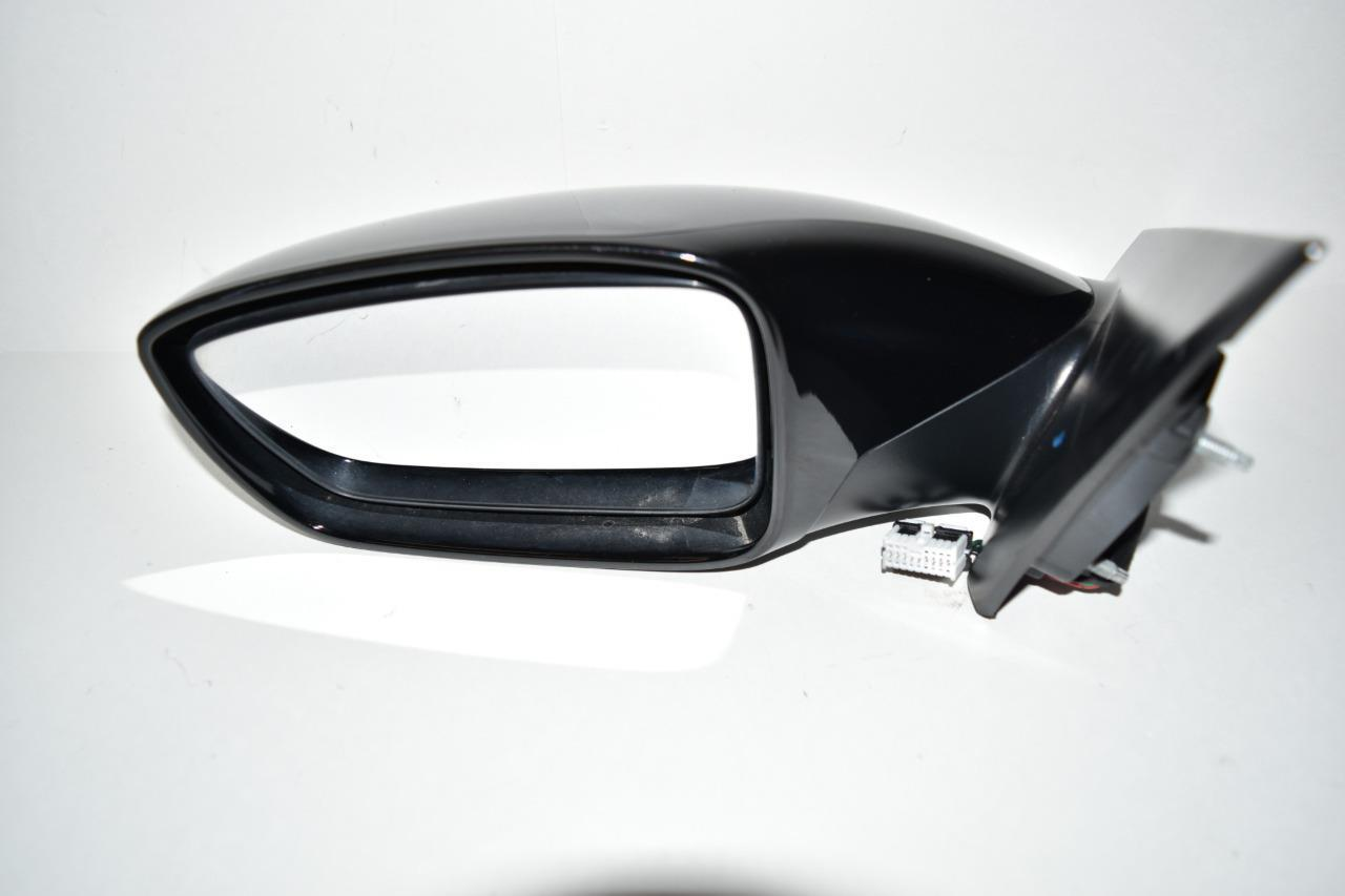 2011 2014 Hyundai Sonata Driver Left Side Power Door Mirror Black