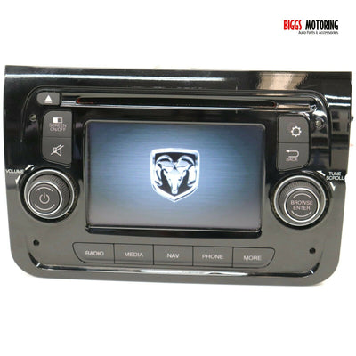 2014-2017 Dodge Ram Promaster Navigation Radio Display Screen P04727632AB
