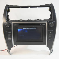 2012-2014 TOYOTA CAMRY 57076 RADIO TOUCH SCREEN CD PLAYER 86140-06011