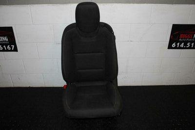 10-14 CAMARO BLACK DRIVER FRONT POWER CLOTH BUCKET SEAT AIRBAG