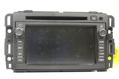 07 08 09 Suzuki Grand Vitara Xl-7 Radio Navigation Gps Cd Player 15933133