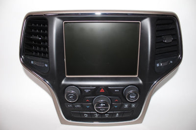 2014-2017 JEEP GRAND  CHEROKEE UCONNECT NAVIGATION 8.4 RADIO DISPLAY 68238619AE