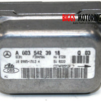 2001-2009 Mercedes Benz W203 C230 Yaw Rate Sensor A 003 542 39 18