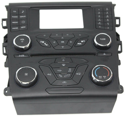 2013-2015 Ford Fusion Radio Face Ac Control Panel DS7T-18E243-EU
