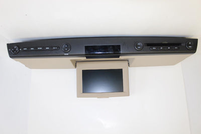 2007-2013 FORD LINCOLN NAVIGATOR MOUNTAINEER REAR ENTERTAINMENT DVD PLAYER
