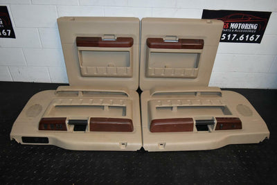 08-10 Ford F250 F350 King Ranch Rear & Front Passenger & Driver Side Door Panels