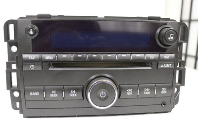 Chevrolet Gmc 2006-2008 Radio Stereo Am/Fm Aux Input Cd Player 25799567