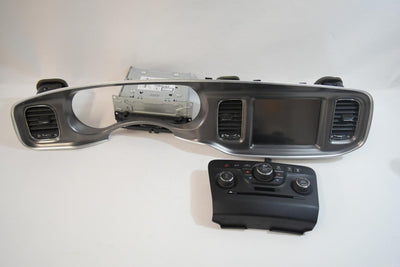 2011-2014 DODGE CHARGER RADIO FACE DISPLAY SCREEN W/ CLIMATE CONTROL