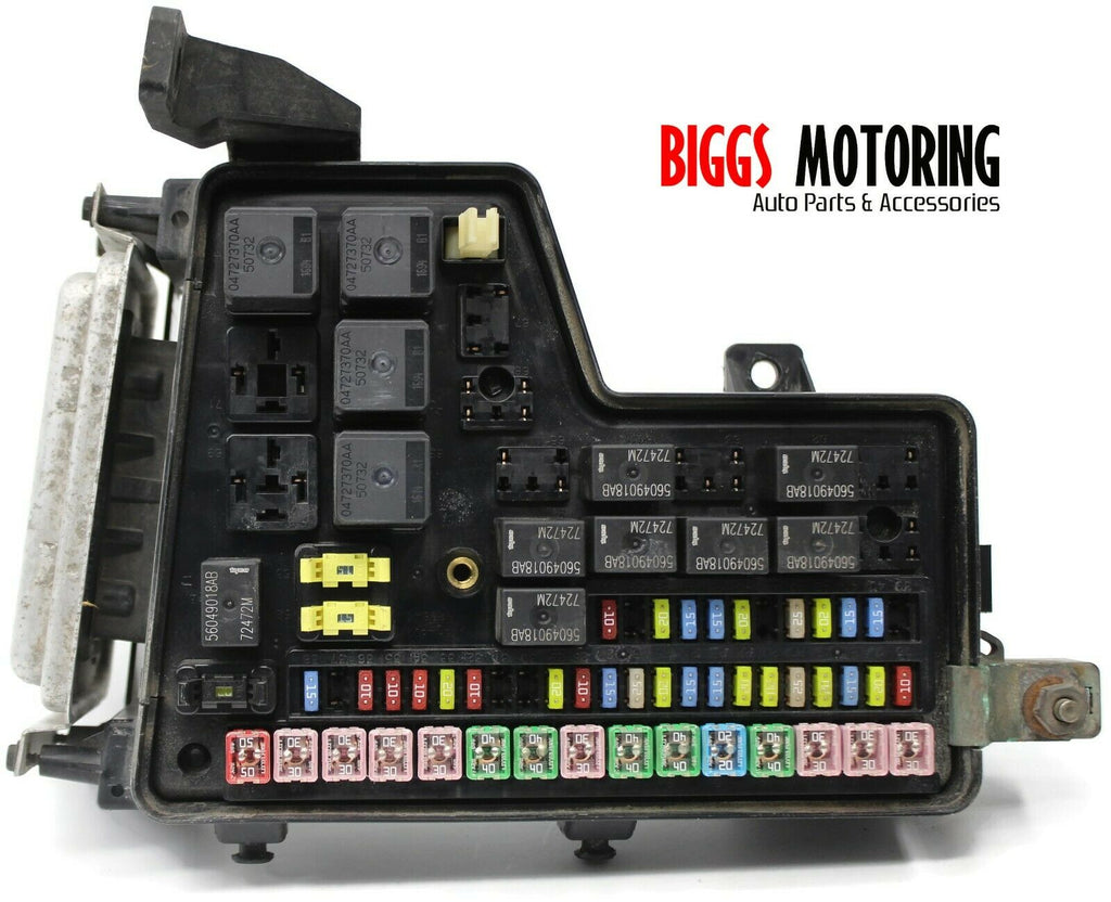 2012 ram 1500 fuse box 2003 2005 dodge ram 1500 tipm integrated power fuse box module  2003 2005 dodge ram 1500 tipm