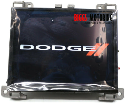 17-18 Dodge Charger Challenger RAM 8.4 UAQ NAV Radio  Display Screen 68274757AH