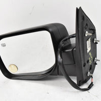 2004-2009 NISSAN TITAN ARMADA DRIVER LEFT SIDE POWER DOOR MIRROR BLACK