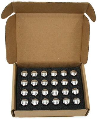 GM Wheel Lock & Lug Nut Kit Chrome 24pc 12451945