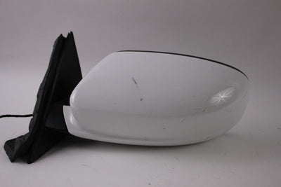 2011-2014 DODGE CHARGER DRIVER SIDE POWER DOOR MIRROR WHITE