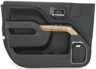 2014-2018 Chevy Silverado Sierra Driver Left Side Front Door Panel