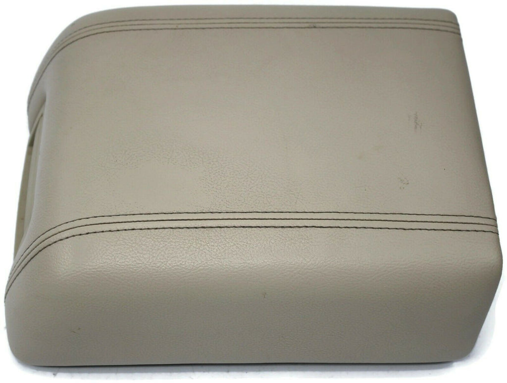 2004 2008 Ford F150 Center Console Armrest Lid Cover Beige