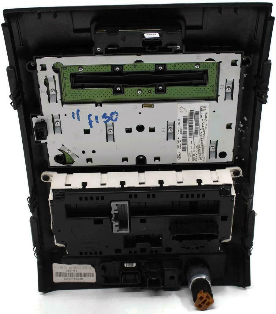 2011 FORD F150 RADIO AND CLIMATE CONTROL UNIT BL3T-18A802-HD