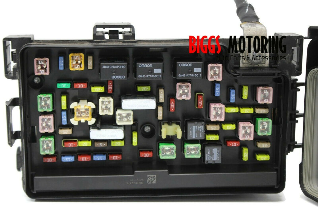 2010 dodge ram 1500 tipm totally integrated power fuse box module 0469 |  biggsmotoring.com  biggs motoring auto parts & accessories