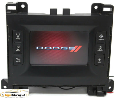 2015-2017 Dodge Charger Bluetooth Media Display Screen P68241518AC