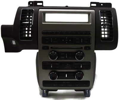2010-2012 Ford Flex Radio Face With Climate Control Aa8t-18a802-Cb