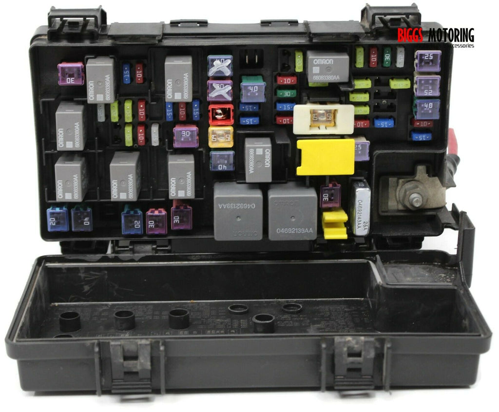 2012 ram 1500 fuse box 2012 dodge ram 1500 tipm integrated power fuse box module  2012 dodge ram 1500 tipm integrated