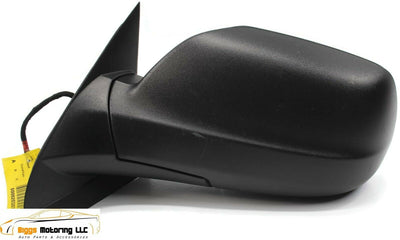 2005-2010 Jeep Grand Cherokee Driver Left Side Power Door Mirror Black 3