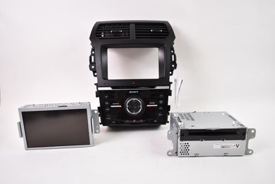 2013-2015 FORD EXPLORER RADIO FACE DISPLAY SCREEN CD MECHANISM PLAYER 33889
