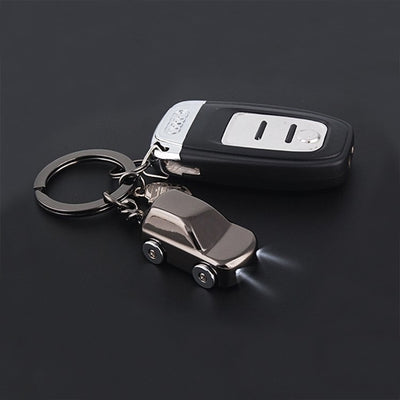 LED Light Car Keychain