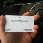 You Suck At Parking Cards