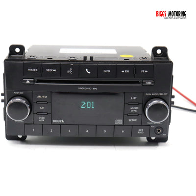 2011-2015 Jeep Dodge Chrysler RES Radio Single Disc Mp3 Cd Player P68039290AG