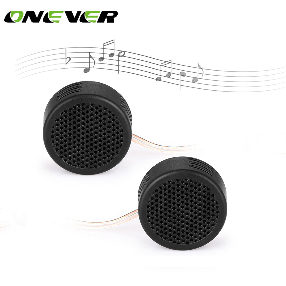 2 Pcs 500W Super High Frequency Mini Car AudioTweeters Dome Loudspeaker Auto Sound Speaker for car