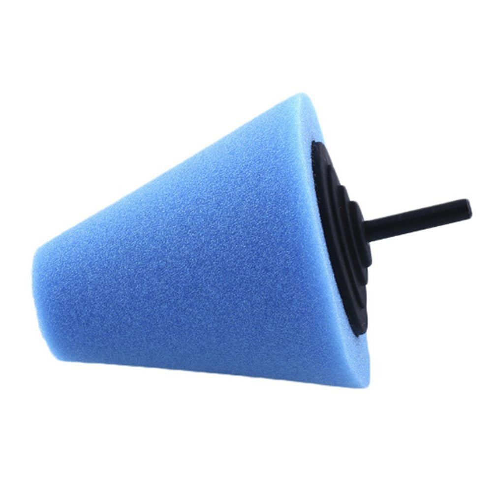 Burnishing Sponge Cone Shaped Buffing Pads Metal Polishing Foam Pad Wheel Care