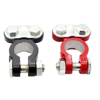 2 PCS Car Battery Terminals Auto Terminal End Battery Terminal Clamps Connectors for Forklift
