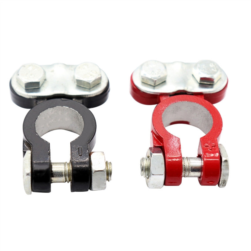 2 Pcs Car Battery Terminals Auto Terminal End Battery Terminal