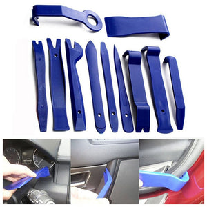 Professional 11Pcs Car Removal Kits Auto Interior Radio Panel Repair Tool Durable Door Clip Window Trim Removal Install Set