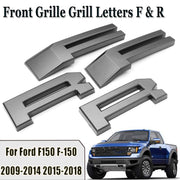 Raptor Style Car Front Grille Grill Letters F R for Ford F-150