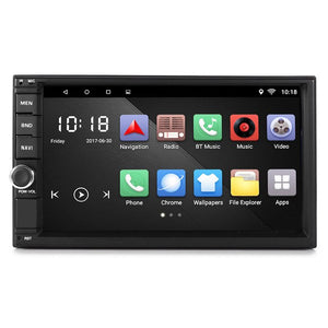 Android 6.0 WiFi GPS Car Multimedia Player 7inch Bluetooth Mirror Auto Radio AM FM Music Playing Mirror Link with Remote Control