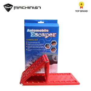 2pcs Foldable Car Snow Chains Mud Tires Traction Mat Wheel Chain Non-slip Tracks Auto Road Turnaround Tool Anti Slip Tracks