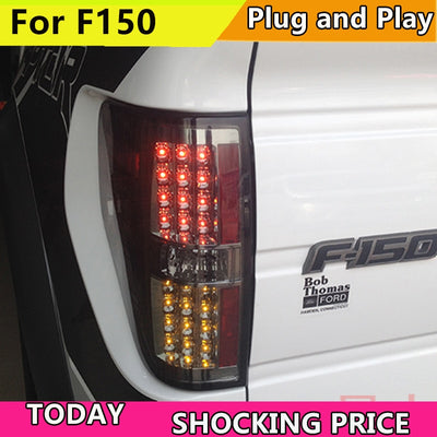 Car styling For For Raptor F150 LED Tail Light for FORD 2008-2014 year Rear Lamp DRL Brake Park Signal led Back light