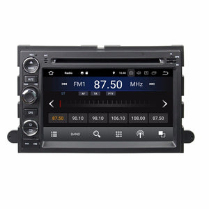 2GB RAM Android 8.1 Car Radio DVD GPS Multimedia Head Unit for Ford Fusion Explorer F150 Edge Expedition Bluetooth Mirror-link