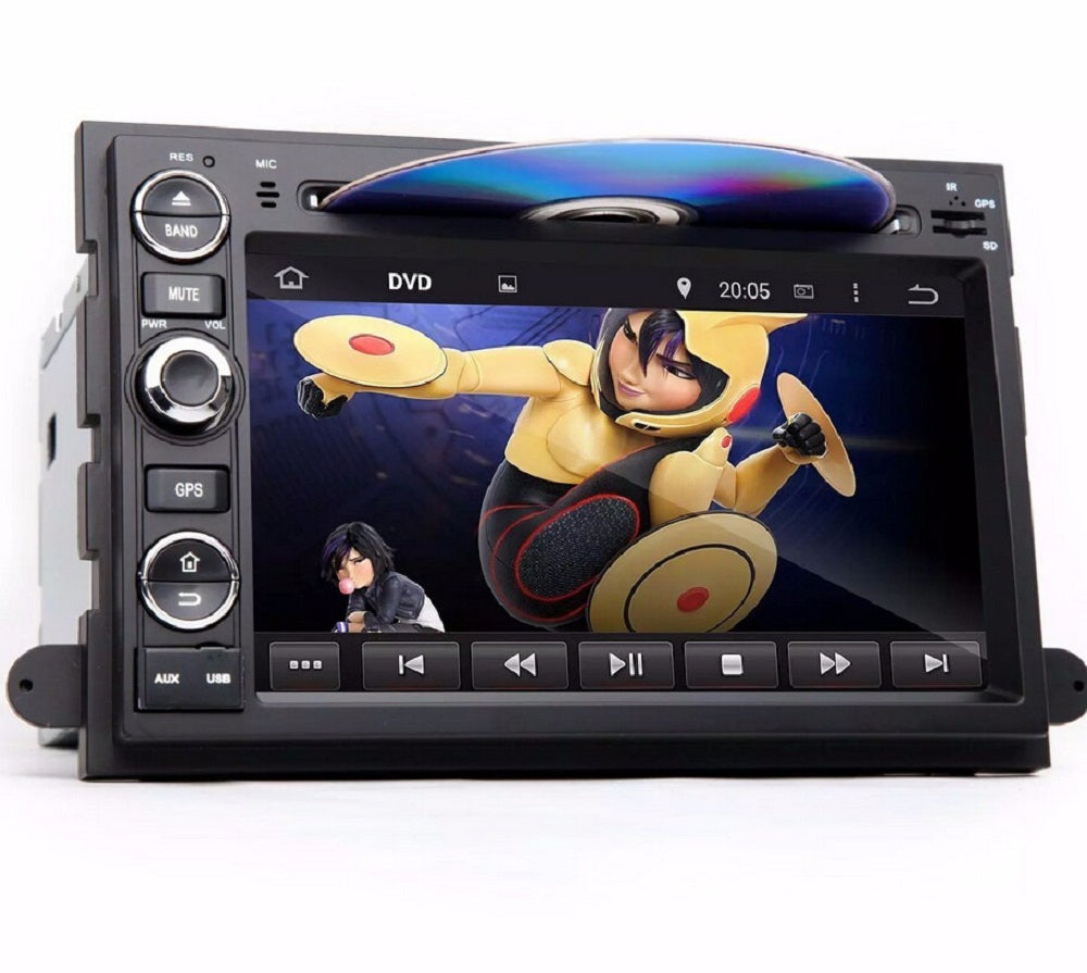 "4GB RAM Octa Core 7"" Android 6.0 Car DVD Player for Ford Fusion Explorer F150 Edge Expedition With Radio GPS WIFI Bluetooth USB"