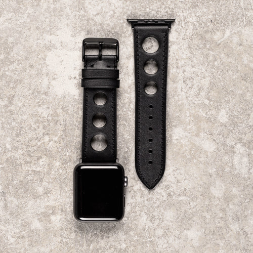 Diametris Apple Watch Rally leather replacement strap - Case size 42mm/44mm