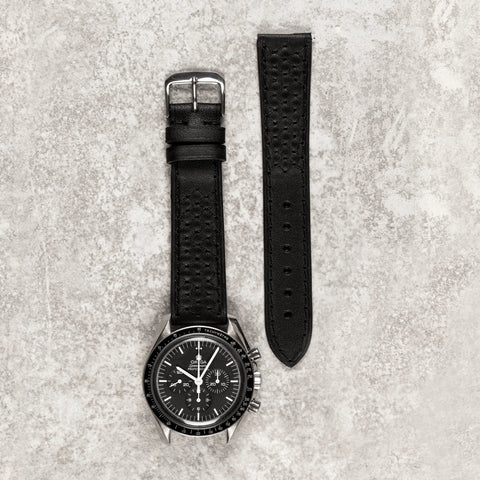 Quilted Black strap
