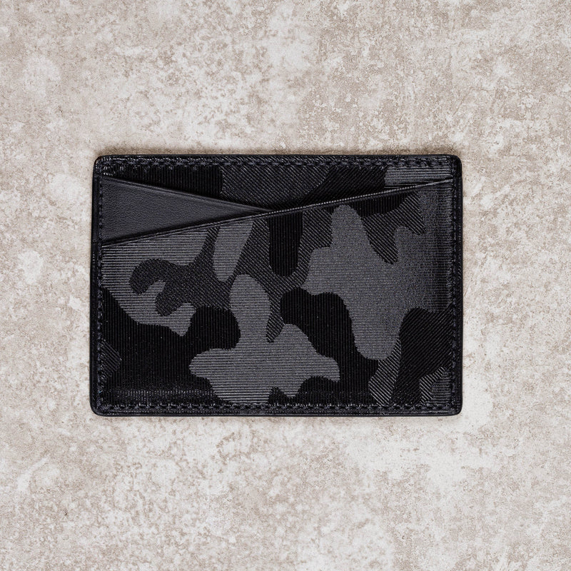 Card case - Black camo