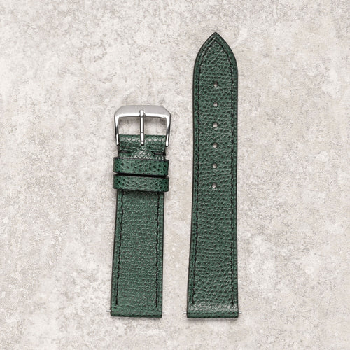 Diametris Impeccable textured green watch strap