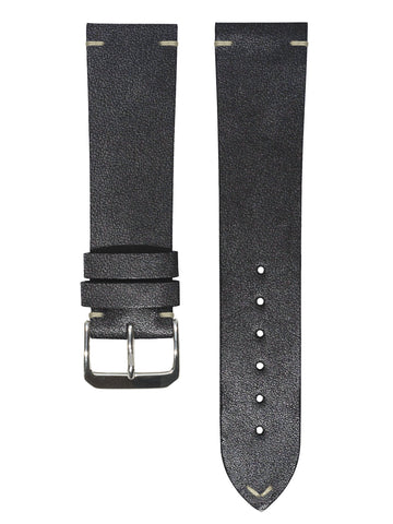 Black minimal stitch vintage watches watch band Montreal