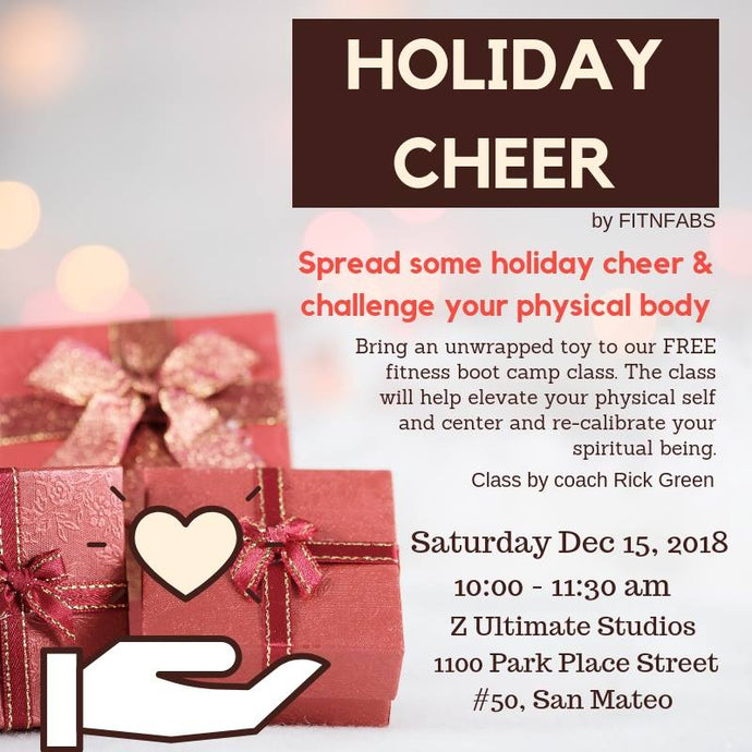 Holiday Cheer - Toys for Tots and Fitness Boot Camp Class