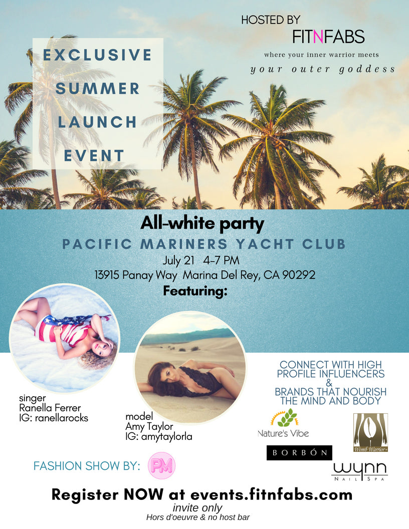 All White Party - Summer 2018 Launch Event