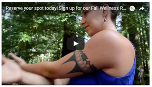 RECHARGE, REFOCUS AT THE FALL WELLNESS RETREAT