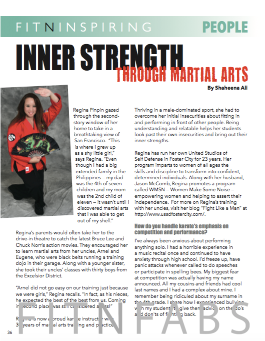 Inner Strength through Martial Arts
