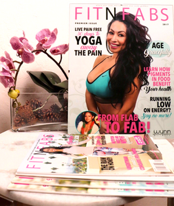 FitNFabs Magazine Annual Subscription - FitNFabs